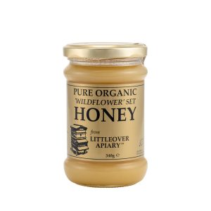 organic set wildflower honey