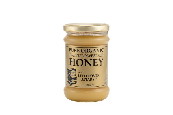 organic set wildflower honey