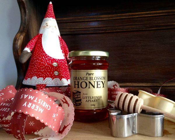 Christmas honey promotion